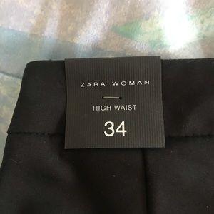 Zara black dress pants